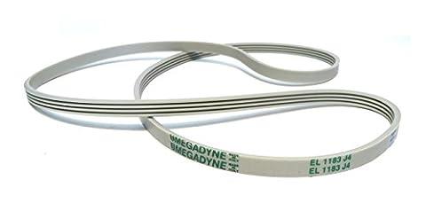 Megadyne - Courroie de lave-linge EL 1183 J4 (36530100)