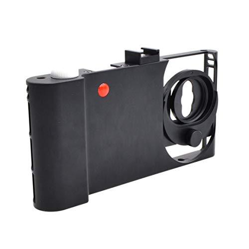 Fantasyworld Universal-Leicht Handys Video Rig Stabilizer Cage Aluminum Alloy Cage suiatble für iPhone 8/7