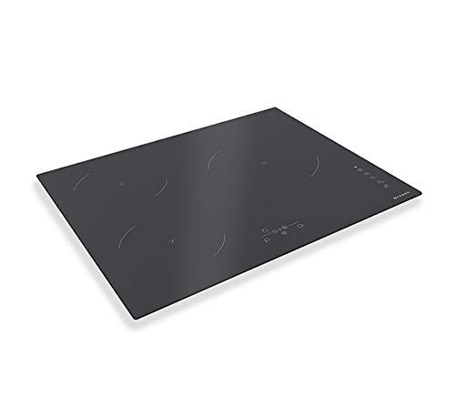 Induktionskochfeld FCH63 grau Glas 58 cm