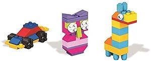 Mattel DYG83 60pieza(s) Bloque de construcción de Juguete - Bloques de construcción de Juguete, plástico, 60 Pieza(s), Rectangular, Monótono, Niño