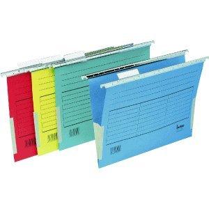 bene-vetro-mobil-116905rt-carpetas-colgantes-de-carton-a4-230g-m-5-unidades-color-rojo