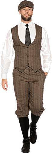 Mann Blinde Kostüm - Wilbers & Wilbers 20er Jahre Peaky Blinders Anzug Kostüm Knickerbocker 20s