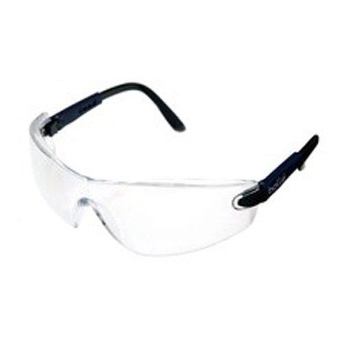 Bollé vippsi Viper Brille, verstellbar Tempel PC klar, kratzfest und Anti-Fog Objektiv, inkl. Band, Electric Blue Gestell Nylon
