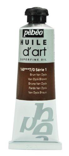 pbo-peinture-huile-dart-1-tube-de-37-ml-brun-van-dyck