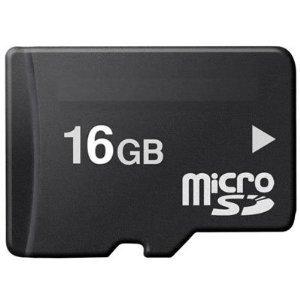 Carte mémoire Micro SD SDHC 16 Go pour BlackBerry Bold 9700, 8100 Pearl/8120/8130 Perles-Perle Pearl, 8220, 8300 Curve 8310, 8320 Curve 8520 Curve/8800 Pearl Curve, 8900 Curve, BlackBerry Bold, Bold 9700, Storm, Storm Mobile!