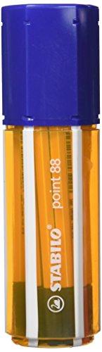 Preisvergleich Produktbild Fineliner - STABILO point 88 - 20er Big point Box Office - schwarz, blau, rot, grün
