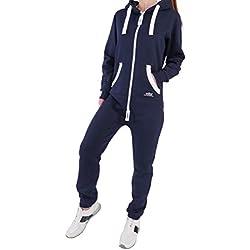 Survêtement Finchgirl - Combinaison de jogging pour femme - Bleu - X-small