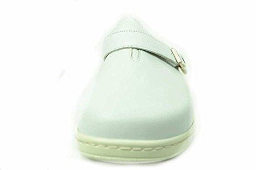Fidelio 25501201, Zoccoli donna Bianco