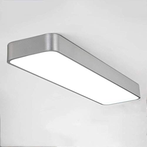 Oudan LED-Lampen hohe Decken-Büro-rechteckige Sauglichter beleuchtet Gang-Restaurant des Korridors des Studiums des weißen Lichtes wählen Leuchtstoff (Farbe: schwarz, Größe: 90 * 20Cm) (Leuchtstoff Schwarz Licht)