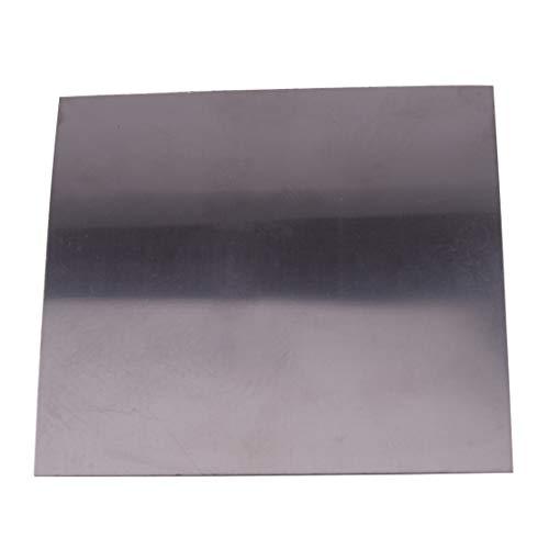 Eastar 0.5mm(0.02inch) Dickes quadratisches Titanfolienblech Ti Dünnes Plattenmaterial 99.8{0612fd4d39e82fa099faa1e8a2e1f80f144ae10ab562a22b8d3ed82d067180fc} Reinheit Metallbearbeitungszubehör