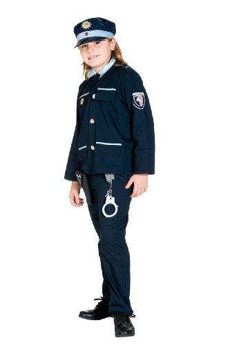 Rubie's 12908-116 - Blauer Polizist Kostüm, Größe 116, -