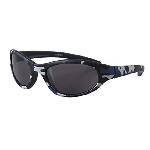 Defect Chicos Azul Camuflaje Gafas de Sol de Chico Cool Gafas de Sol niños
