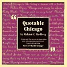 Quotable Chicago by Lindberg (1996-11-01)