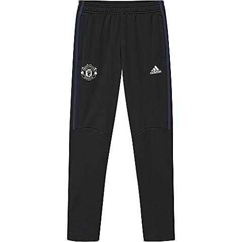 adidas MUFC Pre Pnt Y Pantalon de Survêtement Manchester United FC pour garçon, Noir (Noir / Maruni / Blatiz), 164