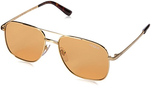 Vogue Eyewear Damen 0VO4083S 280/7 55 Sonnenbrille, Gold/Orange