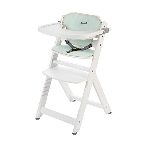 Safety 1st Timba Trona de madera, silla de mesa para niño, Pop Hero