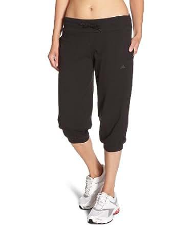 adidas Essentials Pantalon 3/4 Femme Noir UK : 48-50 (Taille Fabricant : XL)