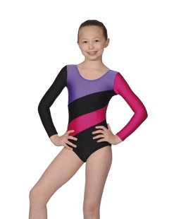 three-tone-gymnastics-or-dance-leotard-by-roch-valley-hop-5-6-years-black-purple-raspberry