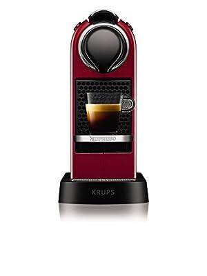 NESPRESSO KRUPS Citiz XN741540 Pod Coffee Machine-Red by Groupe SEB UK Ltd