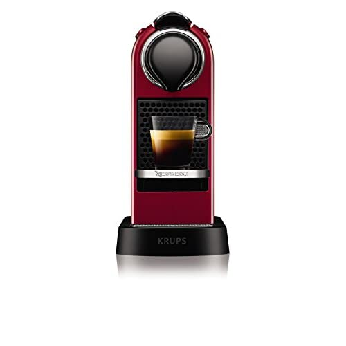 31M8ByEx2FL. SS500  - NESPRESSO KRUPS Citiz XN741540 Pod Coffee Machine-Red