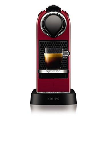 NESPRESSO KRUPS Citiz XN741540 Pod Coffee Machine-Red Best Price and Cheapest