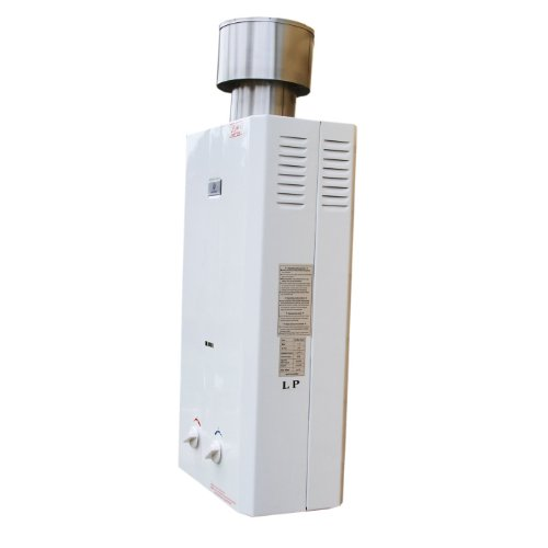 Eccotemp CEL10 10 LPM Portable Outdoor Tankless Water Heater, 50mbar -