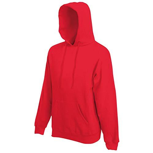 Fruit of the Loom - Kapuzen-Sweatshirt 'Hooded Sweat' XL,Red