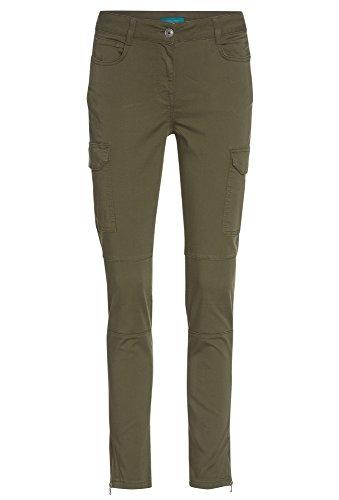 begrenzter Stil neues Erscheinungsbild extrem einzigartig COOL CODE Damen Cargohose mit Lyocell Slim CargoHose,Jeans ...