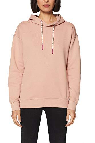 Rosa Damen Sweatshirt (edc by ESPRIT Damen 029CC1J003 Sweatshirt, Rosa (Old Pink 680), Medium (Herstellergröße: M))