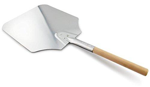 C'est 3 dimensioni in alluminio Pala per la pizza con la maniglia di legno Paddle per forno fatti in casa pizza e pane miglior strumento per Pizzaioli esterni pizza Forni e Barbecue (16''x18'')