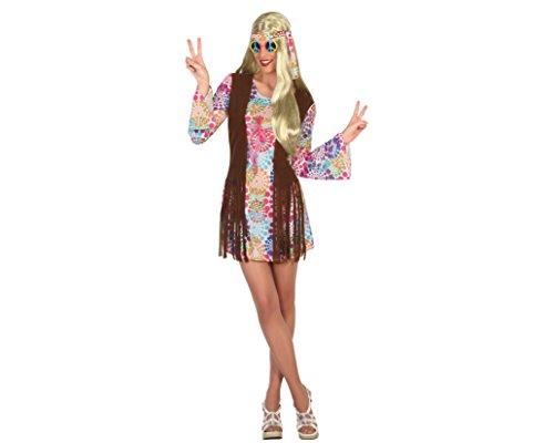 Imagen de atosa 16363–hippie, disfraz de mujer, tamaño m–l, 38/40
