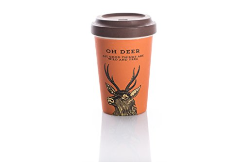 Coffe to go Becher Bamboo Cup (Oh Deer)