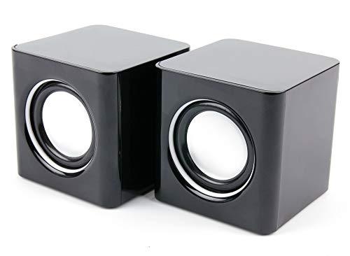 DURAGADGET Stereo Lautsprecher, kompatibel mit YARVIK (Luna/Noble/Xenta/Junior / G1 Force Serie) Tablet PCs