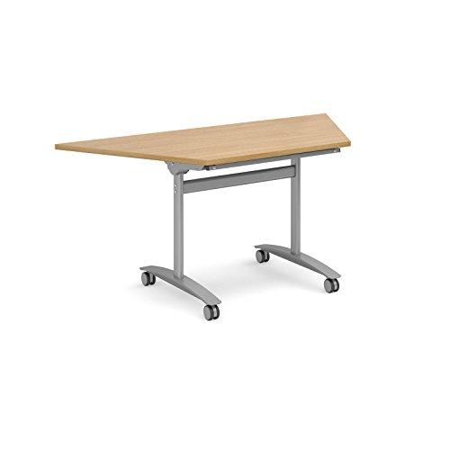 Bureau-lphant-Oe06-flipto-trapzodal-1600-mm-de-large-Flip-Top-Runion-Table-en-chne