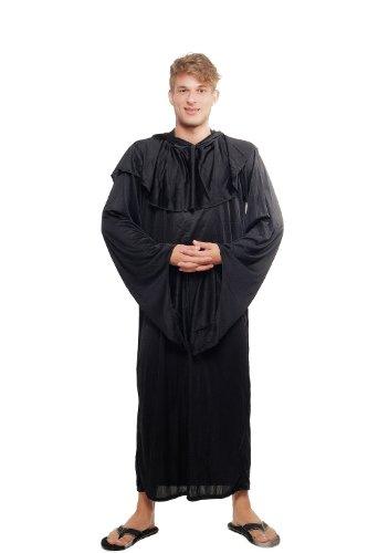 Imagen de dress me up  l062/52 disfraz hombre mujer unisex verdugo brujo mago negro monje demonio culto talla 52/l alternativa