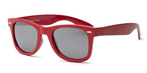 Swag Lunettes de soleil enfant Taille 10 + Rouge rouge