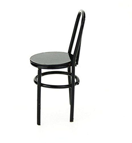 Nalmatoionme 1: 12miniatura da cucire sedia (nero)