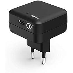 Hama USB-C con carga rápida Qualcomm 4+