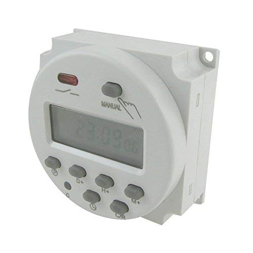 Hrph Digital LCD Power Programmierbarer Timer Time Switch -