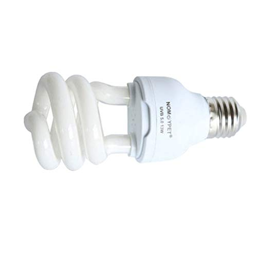 Balai Reptile UVB-Energiesparlampe, 5.0/10.0 Kompakt-Fluoreszierende Tropische Terrariumlampe, Schildkröten-Eidechse Kalzium-Sukkulente Ultraviolettes Sonnenlicht