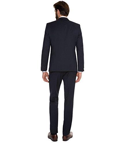 Michaelax-Fashion-Trade -  Abito  - Basic - Maniche lunghe  - Uomo blu navy