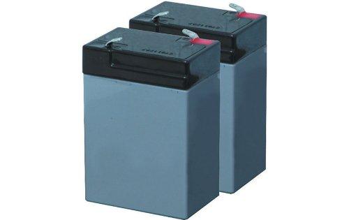 Batteria al piombo 6V-4AH 2 pezzi 1050018 Valex