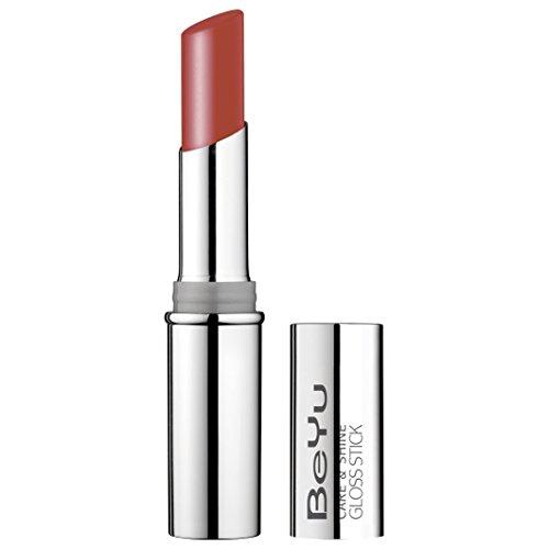 BEYU Care & Shine Gloss Stick (No. 90 Wild Berry) With Free Make Up Sponge