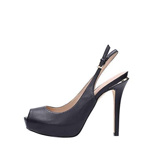 Guess Schuhe mit absatz damen FL6HRL LEA07 38 schwarz (Guess Schuh Für Frauen)
