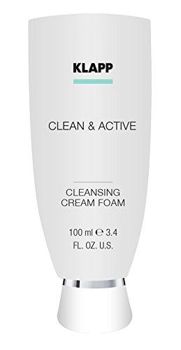 Klapp Cosmetics Clean & Active Cleansing Foam 100 ml Reinigt & regeneriert trockene Haut -