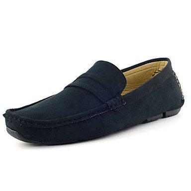 Chaussures d'hommes Office & Carrière / Penny Loafers synthétique décontracté noir / bleu / blanc / gris Black