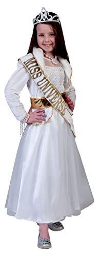 Karneval-Klamotten Miss World Kostüm Mädchen Größe 104 (Miss World Kostüm)