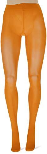 FALKE Damen Strumpfhosen Matt Deluxe 30 DEN, Transparente, Matt, 1 Stück, Orange (Mandarin 8216), Größe: L - 3