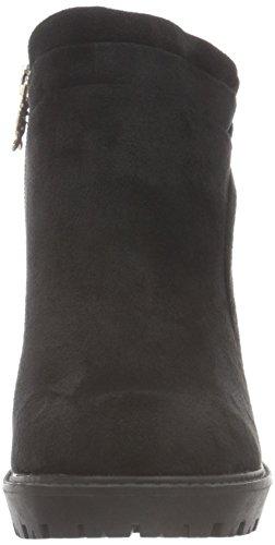 XTI Damen 46144 Kurzschaft Stiefel Schwarz (Black)