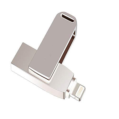 Su flash drive hard disk esterno usb2.0 per iphone espansione memoria del telefono mobile 16g-128g 360 ° rotante in metallo,16gb